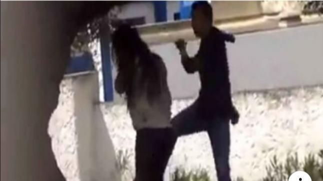 غضب فيسبوكي واسع بعد ظهور فيديو اعتداء شاب على فتاة بوحشية (فيديو)