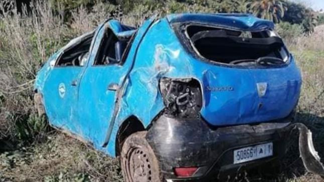 مصرع ثلاثة أشخاص في حادثة سير خطيرة نواحي المحمدية