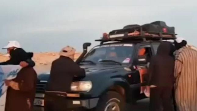 في خطوة خطيرة..البوليساريو تعترض سبيل سباق دولي بمعبر الكركرات(فيديو)