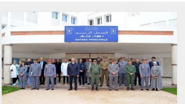 أطر طبية عسكرية تحل بالحسيمة للمساهمة في تعزيز العرض الصحي بالإقليم