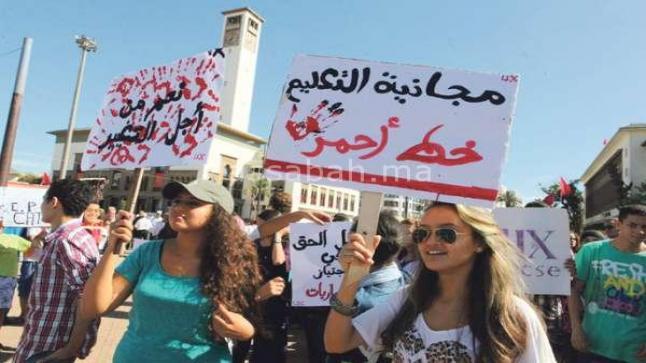المغاربة ساخطون على التعليم والتشغيل (تقرير)