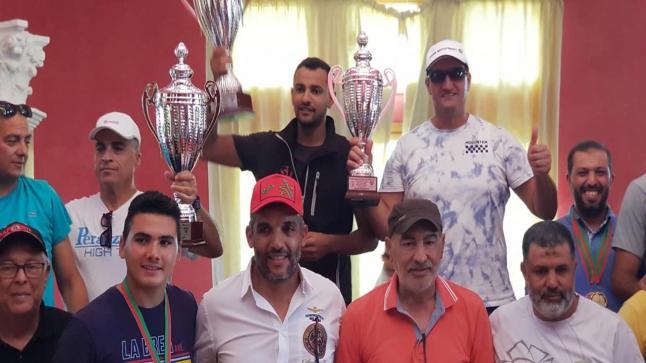 يحيى مسفيوي يفوز بالميدالية الذهبية لبطولة المغرب للرماية