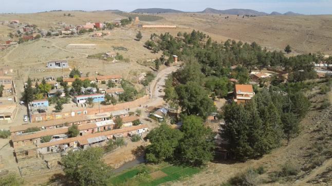 قرية آيت امحمد إقليم أزيلال.. قساوة طبيعية وراحة نفسية