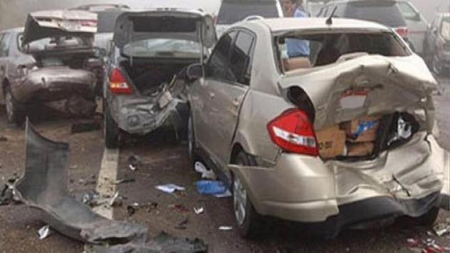 حصيلة حوادث السير بالمدن خلال الأسبوع الماضي