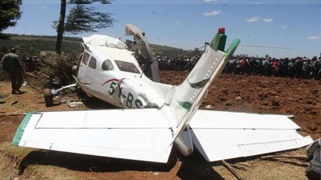 اعتقال ربان طائرة سقطت بطنجة بعدما اخترقت الأجواء المغربية