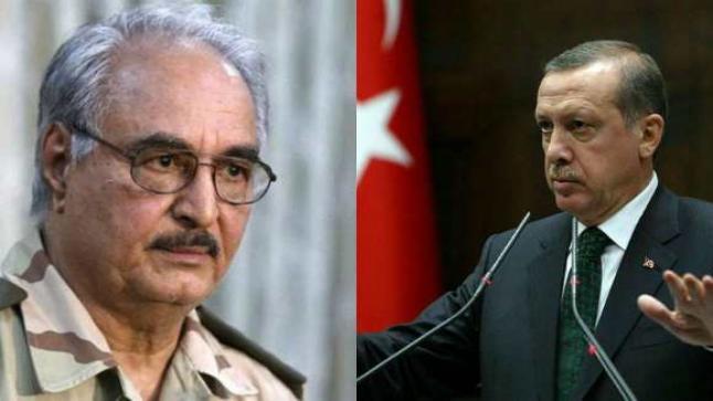 تركيا تهاجم حفتر وتتهمه بتطرف بلغ حد الإرهاب