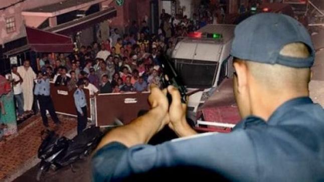 شرطي بفاس يشهر سلاحه بسبب هذا الخطر