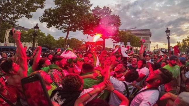 فرنسا : مقتل امرأة وأعمال شغب أثناء احتفالات جزائريين بالتأهل لنصف نهائي الكان