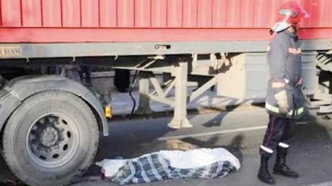 يارب السلامة…شاحنة تدهس طفلا في حادث مفجع بالدار البيضاء
