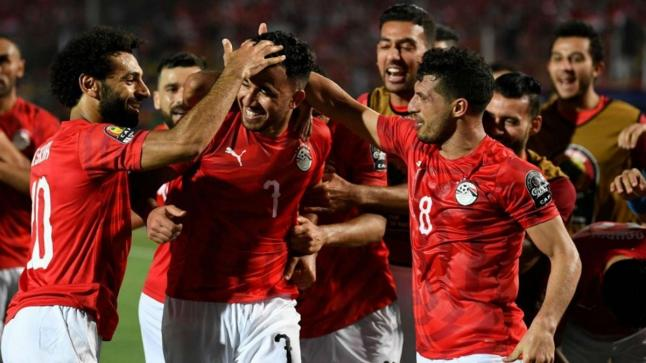 مصر تبلغ ثمن النهائي بعد فوزها على الكونغو الديمقراطية بثنائية