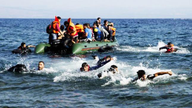 إنقاذ 277 مهاجر من الموت غرقًا في البحر المتوسط
