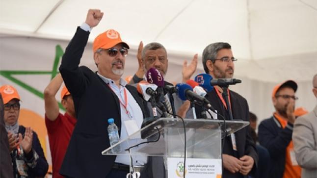 """نقابة """"البيجيدي"""" تعلن رفضها لمشروع قانون الإضراب وتطالب بتصحيح اختلالات القانون الإطار"""