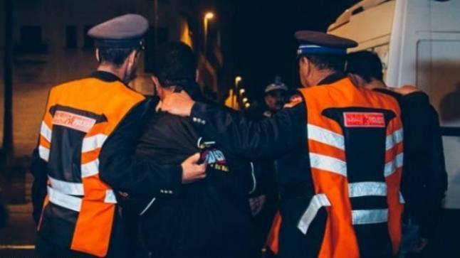 أمن سراغنة يشهر أسلحته الوظيفية لتوقيف شخص عرض عناصر الشرطة