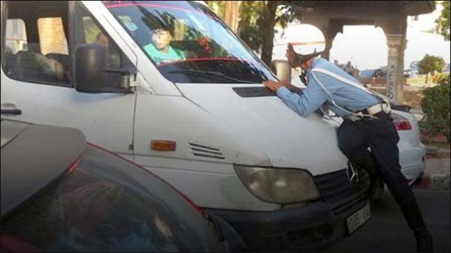 سائق يقود بسرعة جنونية ينهي حياة شرطي بتطوان